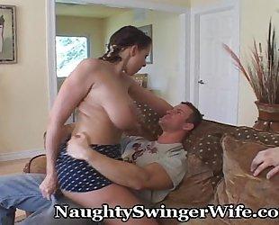 Naughty threesome with big tit gianna