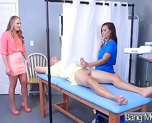 Horny patient (kelsi monroe) come and acquire nailed at doctor video-17