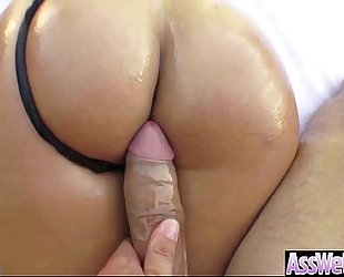 (kelsi monroe) sexy big round gazoo non-professional amateur wife group sex hard in her behind mov-16