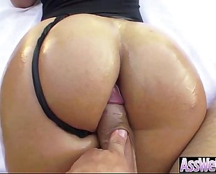 Big arse oiled girl (kelsi monroe) acquire anal hardcore sex on camera movie-18