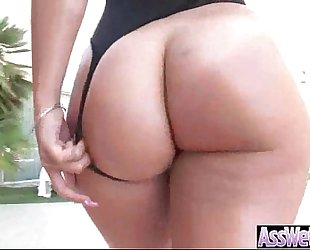 Round biggest wazoo cheating wife (kelsi monroe) in hardcore style anal sex tape clip-20