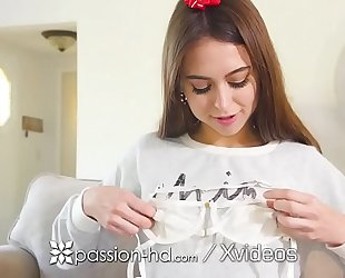 Passion-hd christmas fuck and facial after riley reid opens sex gift