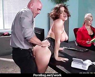 Sexy wild milf likes coarse sex at work 8