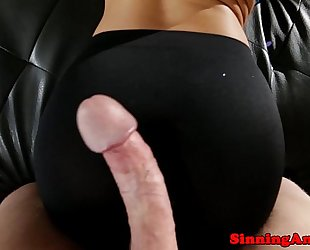 August ames screwed from behind pov