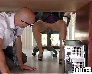 (lela star) hot hotwife with large billibongs gangbanged in office movie-19