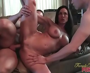 Kendra longing receives screwed and muscle worship