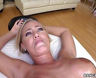 Nicole aniston acquires a proper massage