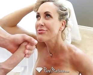 Puremature - flawless 10 milf brandi love drilled from behind