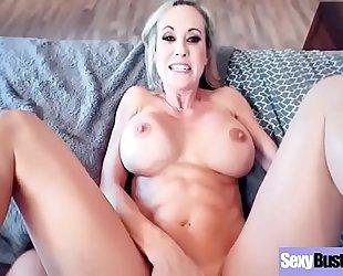 Naughty hawt hotwife (brandi love) with large juggs have a fun hard sex vid-04