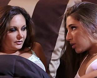 Abella danger and ava addams at mommy's white wife